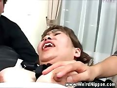 Asian maids getting pussy fingered
