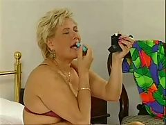 Lotta Noletty with young guy _: bbw blondes grannies matures old+young