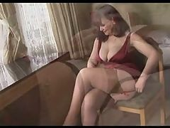 Oldie teases _: matures stockings