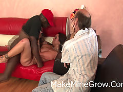 Big Tits MILF Screwed By A Black Guy