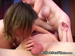 Dirty and intimate amateur 3some with matures _: amateur british matures