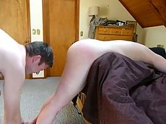 Wife Bent Over the Bed Flogged & Fucked Disciplined _: amateur bdsm swingers